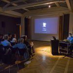 Sal 26 aften med projektor - Glyptoteket - Kælderen 13